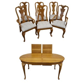 Thomasville Traditional Oak Dining Set
