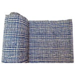 Image of Homespun Nubby Plaid Fabric Textile - 7 Yards