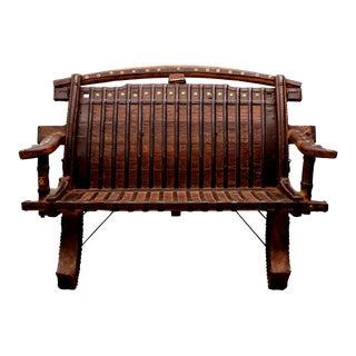 Ox Cart Bench