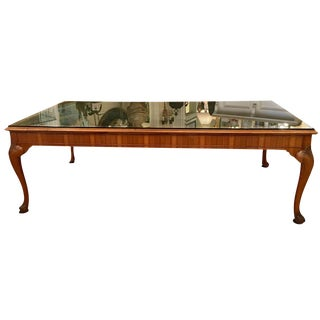 Maple & Co. Antique English Library Table Desk