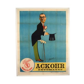 Unframed Ackohr Automatas Magician Poster