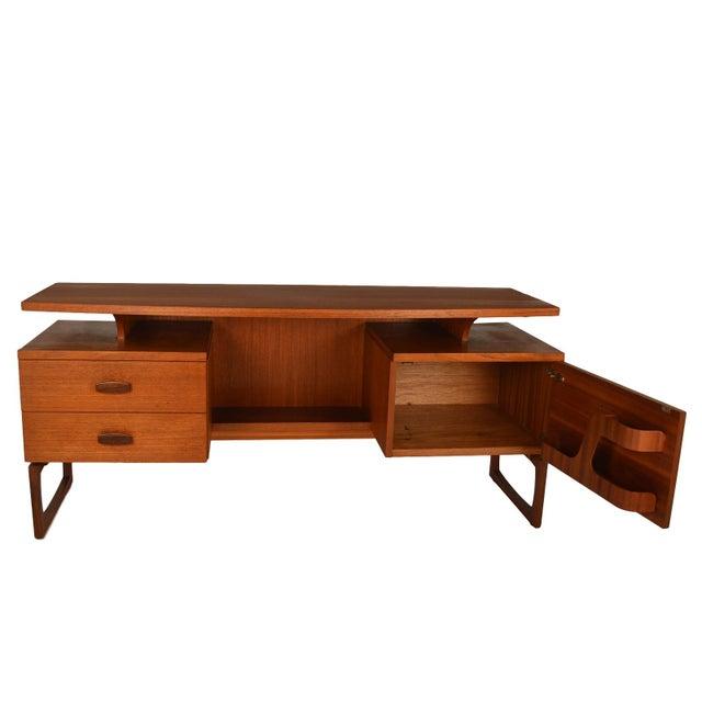G Plan Mid-Century Danish Modern Teak Desk - Image 2 of 7