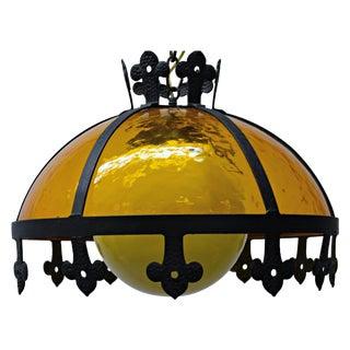 Flared Globe Pendant Lamp
