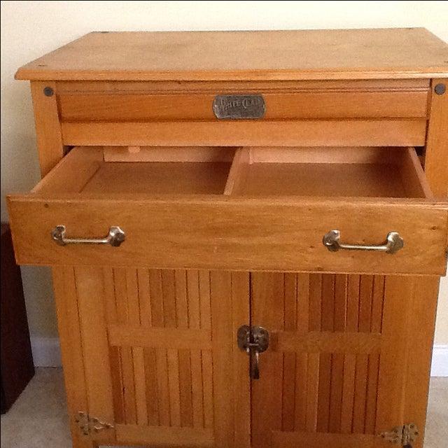 Wooden Kitchen Island On Casters Chairish