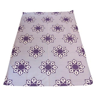 "Madeline Weinrib Grape ""Samosa"" Area Rug - 6' X 9'"