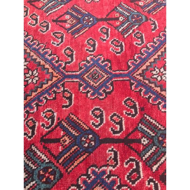 "Vintage Persian Yalameh Area Rug - 7'8"" x 9'7"" - Image 9 of 11"