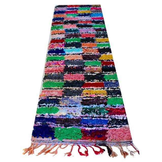 Moroccan Colorful Runner Rug - 2'3'' x 8'7'' - Image 2 of 2