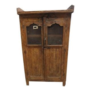 Antique Primitive China Cabinet Cupboard