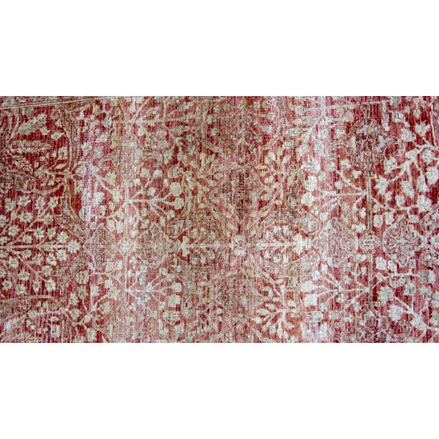 Red and gold pak persian area rug 10 39 3 x 8 39 2 chairish for Red and gold area rugs