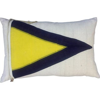 British Nautical Flag Pillow