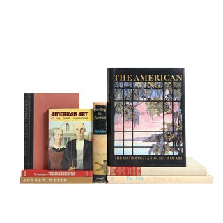 The Emergence of American Painting Books - Set of 8