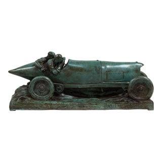 A Bronze Cast of a Mercedes Blitzen Benz by Talisman