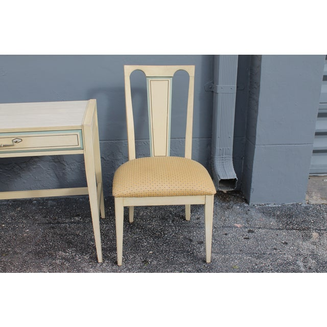 1960s Vintage Mid Century Modern Writing Desk & Chair - Image 8 of 10