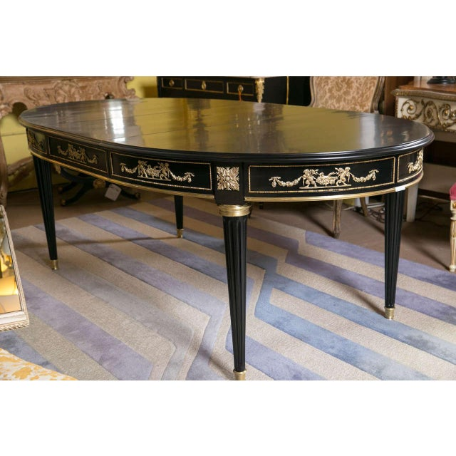 Maison Jansen Bronze-Mounted Dining Table - Image 2 of 8