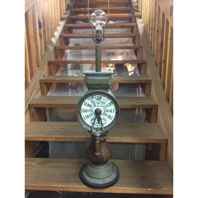 Vintage Nautical Decor Sale: Nautical Steampunk Vintage Ship Telegraph Lamp