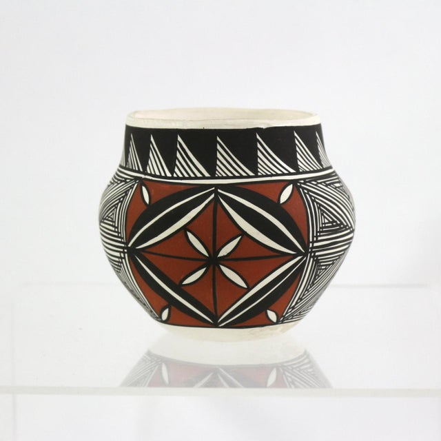 Vintage Acoma Native American Art Pottery - Image 2 of 5