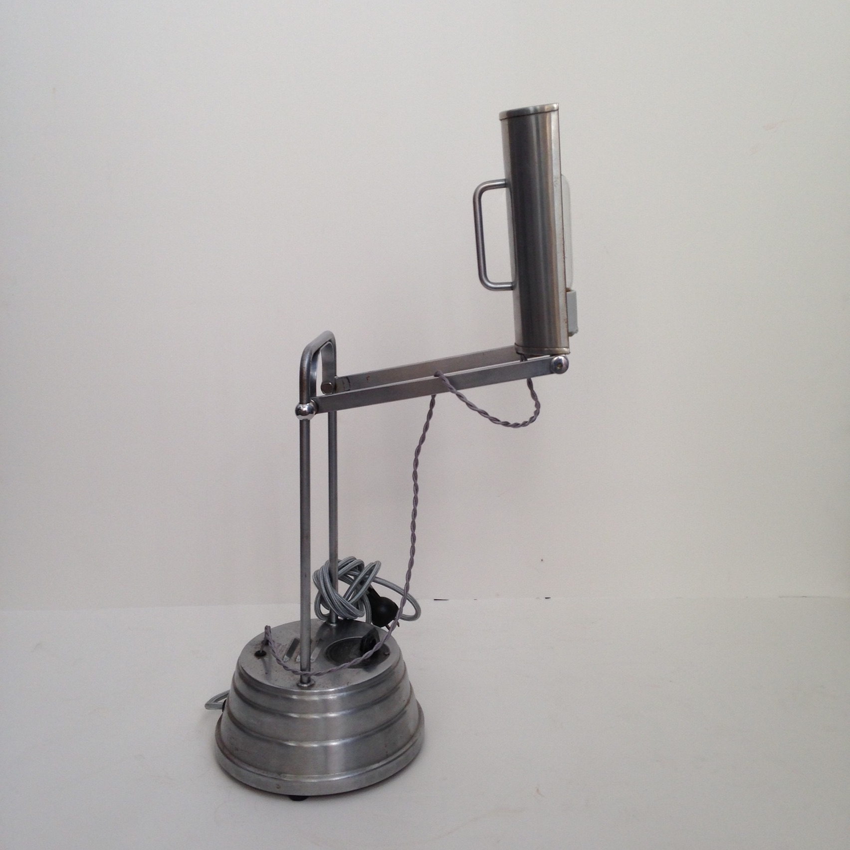 Sun Kraft Vintage 1940 Industrial Desk Lamp Chairish