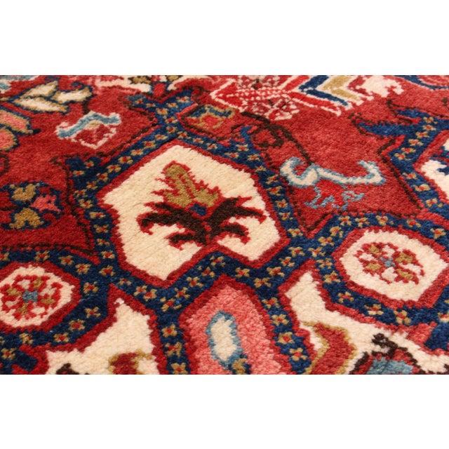 Heriz Vintage Persian Rug - 7′9″ × 11′5″ - Image 2 of 2
