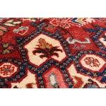Image of Heriz Vintage Persian Rug - 7′9″ × 11′5″