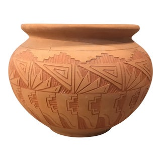Navajo Terra Cotta Bowl