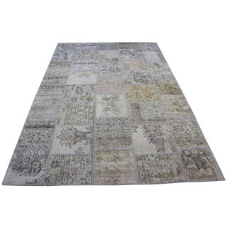 Turkish Anatolian Patchwork Rug - 5'9'' X 8'8''