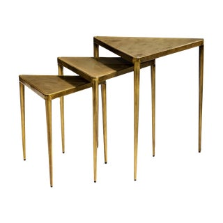 Jasmine Triangle Nesting Tables - Set of 3