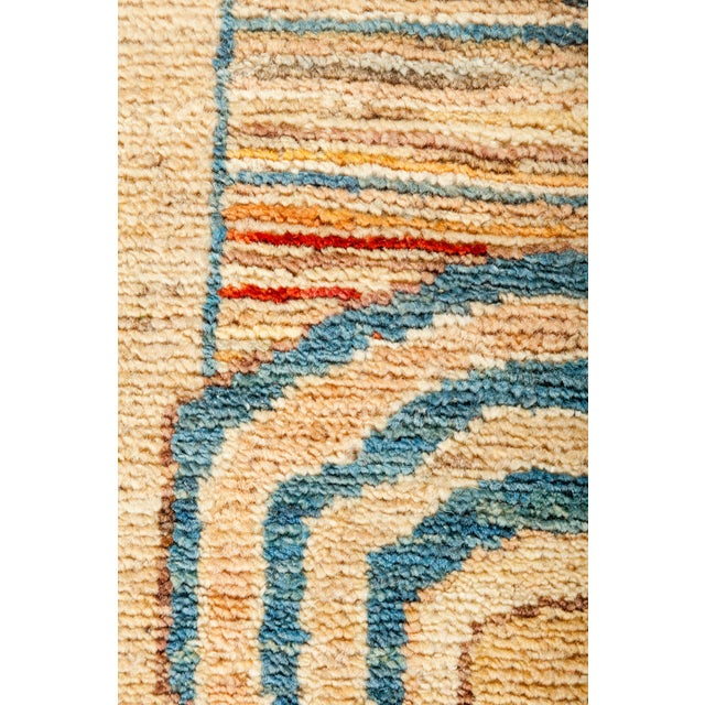 """Suzani Hand Knotted Area Rug - 5'5"""" X 6'6"""" - Image 3 of 3"""