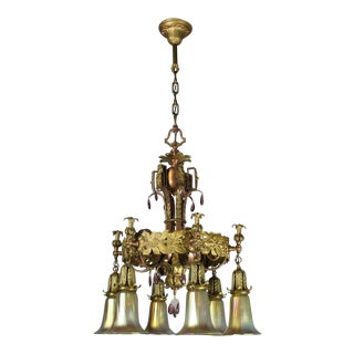 Decorative Spanish Colonial Fixture (6-Light)