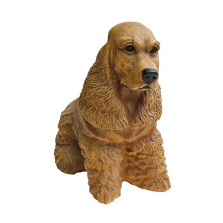Cocker Spaniel Dog Figure