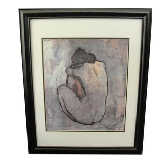 Modern Print of Nude Woman by Pablo Picasso