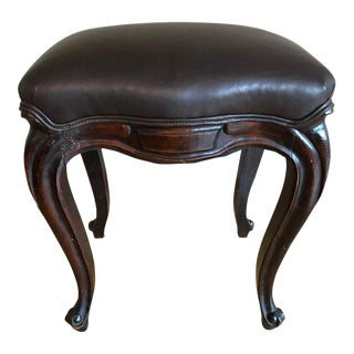 18th Century Louis XV Carved Stool