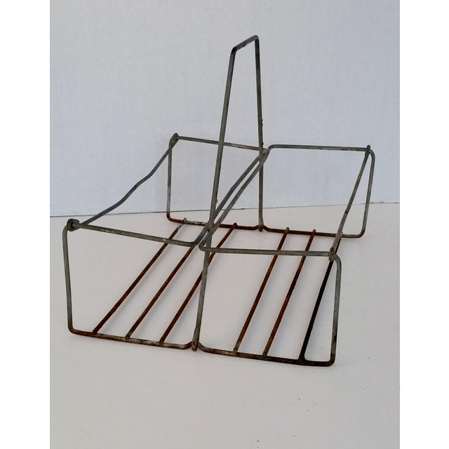 Vintage Metal Wire Caddy - Image 3 of 5