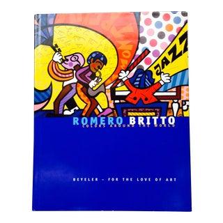 Signed Britto Colors Around the World Book