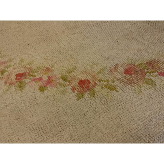"""Antique French Savonnerie style carpet 17' 4"""" x 18' - Image 4 of 4"""