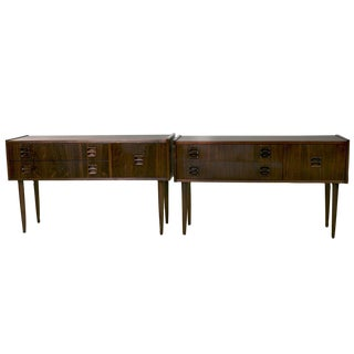 Danish Rosewood Night Stands by Kai Kristiansen - A Pair