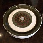 Image of Vintage Sakura Stoneware Plates - Set of 14