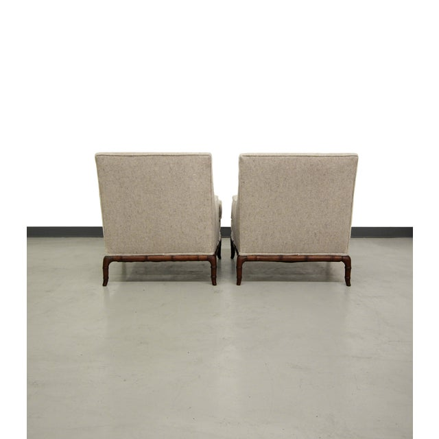 Bamboo Base Mid-Century Lounge Chairs - A Pair - Image 6 of 7