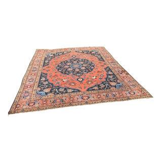 Antique Persian Tabriz Rug - 12′ × 14′