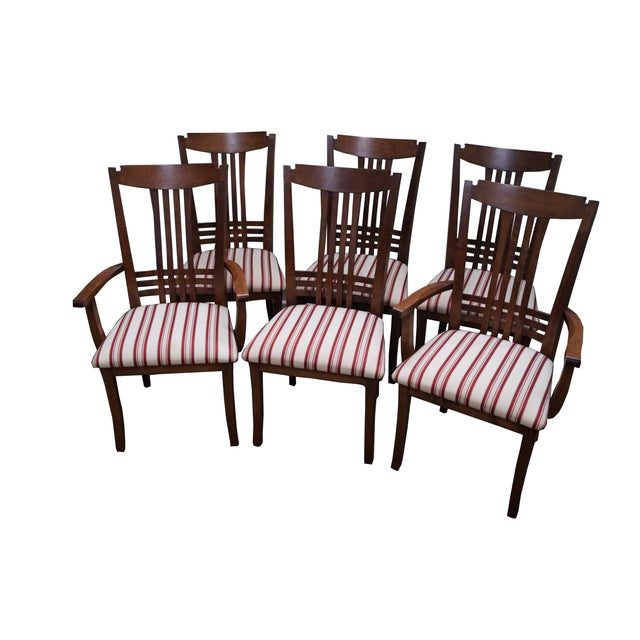 Bermex Traditional Maple Wood Dining Chairs - 6 - Image 1 of 10