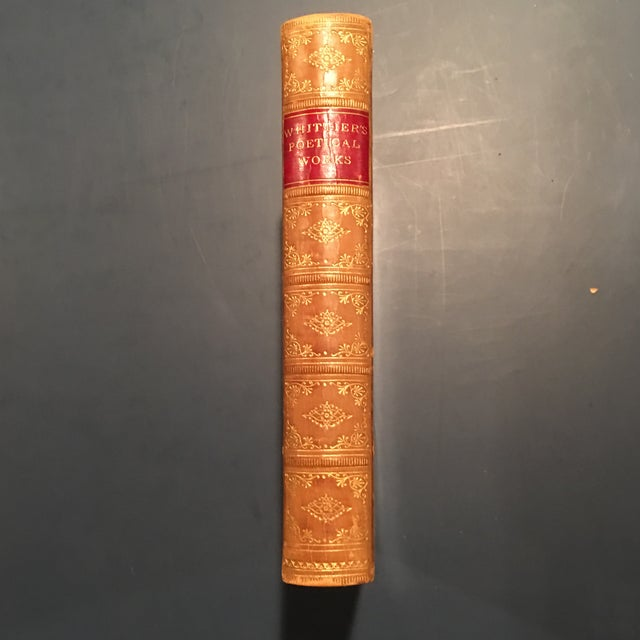 """""""Complete Poetical of John Greenleaf Whittier"""" Book - Image 3 of 7"""