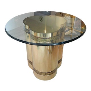 Brass Table by Bernhard Rohne for Mastercraft