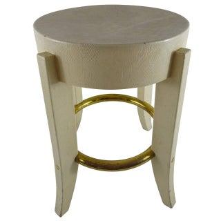 Karl Springer Side Table