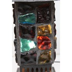 Image of Arts & Crafts Leaded Glass Table Lights - A Pair
