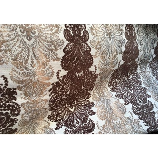 Damask Chenille Fabric