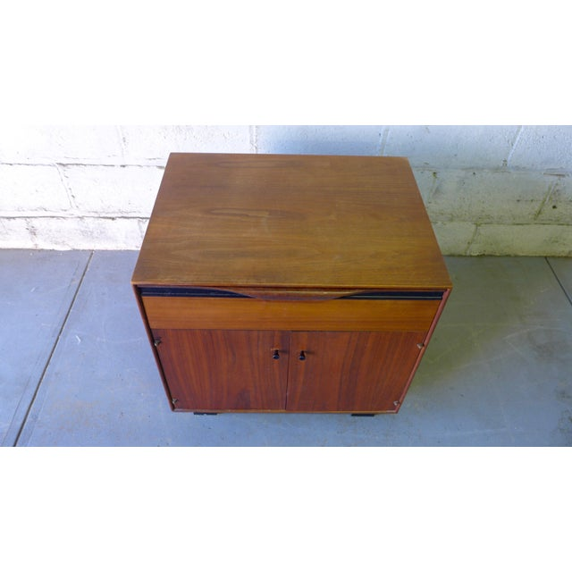 John Stuart Mid-Century Modern Nightstand Cabinet - Image 6 of 6