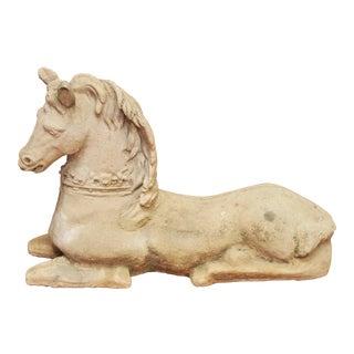 RECUMBENT HORSE