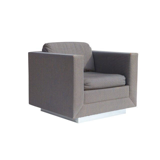 Stow & Davis Cube Club Chairs - A Pair - Image 3 of 8