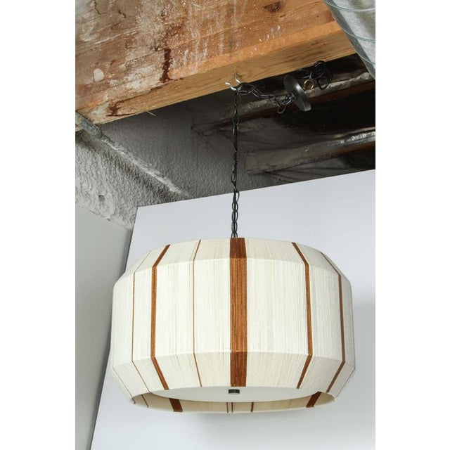 Customizable Paul Marra Hand-Dyed String Pendant - Chandelier - Image 2 of 7