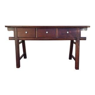 Antique Asian Console Table