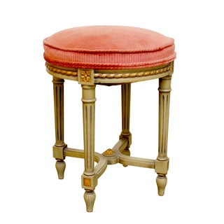 French Louis XVI Foot Stool Ottoman